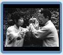 tai Chi Chuan. Il Maestro Wang in Tui Shou con Judit